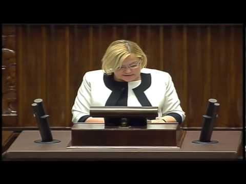 Krystyna Poślednia - wystąpienie z 13 czerwca 2013 r.