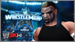 WWE 2K14 The Rainbow Haired Warrior Jeff Hardy!