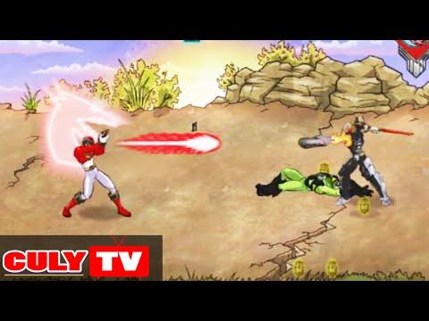 trò chơi 5 anh em siêu nhân đánh quái vật | Cu lỳ chơi game #1 | gameplay power rangers megaforce