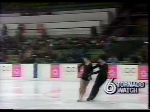 Xi & Zhao (CHN) - 1984 Sarajevo, Ice Dancing, Original Set Pattern