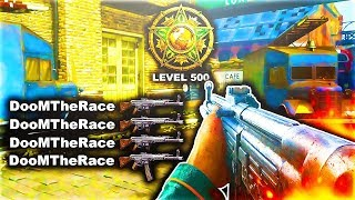 LEVEL 500! ABUSING DOUBLE XP! #1 RANKED COD WW2 ACCOUNT! Call of Duty: WWII Multiplayer Gameplay