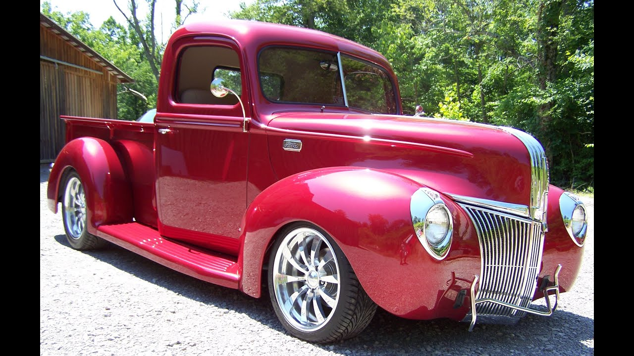 1941 Ford Pick Up Street Rod Youtube