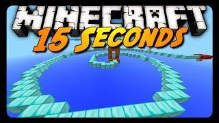 Minecraft: 15 SECONDS! (Sethbling's Parkour Challenge)