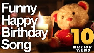 Funny Happy Birthday Song Cute Teddy Sings Very Funny