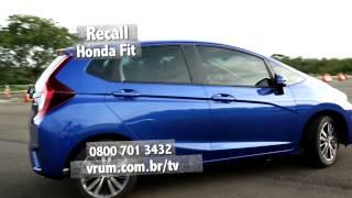 Honda convoca recall do Novo Fit para troca do tanque de combust�vel