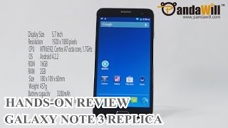 N9000+ Hands On Best Samsung Galaxy Note 3 Replica