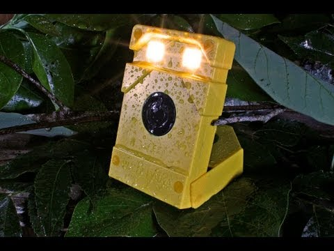 Waka Waka Light & Power - Rechargable Solar Lamp