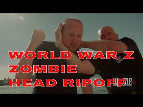 World War Z ZOMBIE HEAD RIPOFF