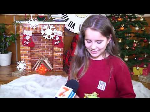 Хмельницькі школярі виготовляли новорічну іграшку
