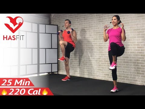 Low Impact Cardio Workout for Beginners - 25 Minute Beginner Workout Routine at Home for Women Men