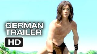 Tarzan 3D Official German Trailer (2013) Motion Capture