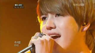 [HD] 110827 Kyuhyun feat Jungmo - Masquerade @ Immortal Song 2. mp4