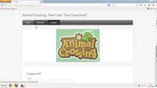 Animal Crossing: New Leaf Free Download