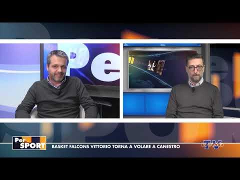 Per Sport - Basket Falcons Vittorio torna a volare a canestro