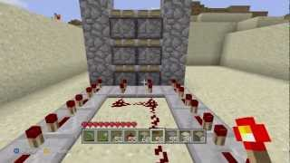 Minecraft (Xbox 360 Edition): Piston Elevator (Up And Down