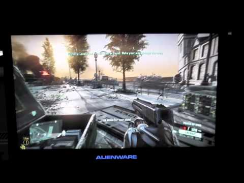 Alienware m14x - Crysis 2 Gameplay