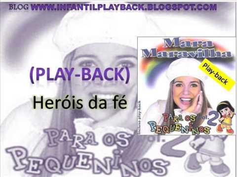 mara maravilha-heroes da fé-playback (cd para os pequeninos vlo 2)