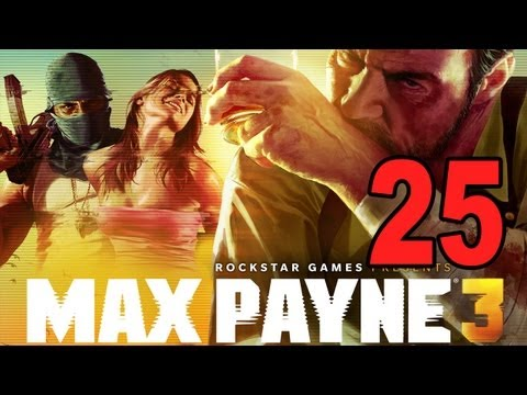 Max Payne 3 - Chapter 11 Part 1 - Yacht Party (Gameplay Walkthrough Let's Play)