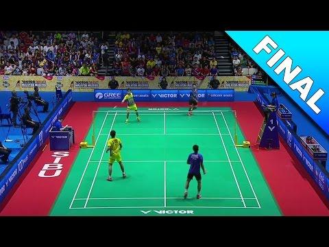 Far East Malaysia Masters 2017 | F | Goh/Izz vs Ang/Har [HD]