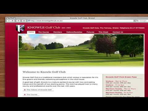 Knowle Golf Club Bristol Somerset
