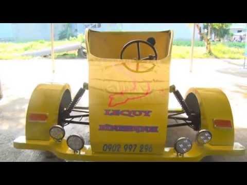 Bình Định - tự chế siêu xe ba bánh đẹp nhất việt nam