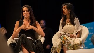 The humbling moment Meghan Markle introduces a young Eritrean activist