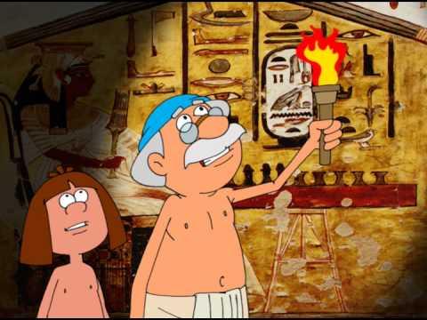 Занимательные уроки - Всемирная история Древний Египет - египет