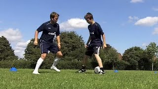 How To Do 1 V 1 Soccer Skills Learn Football Skills