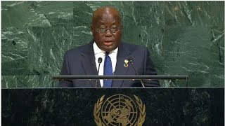 Ghana - President addresses the 72nd United Nations General Assembly