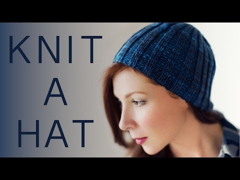 How to Knit a Basic Beanie Hat for Beginners