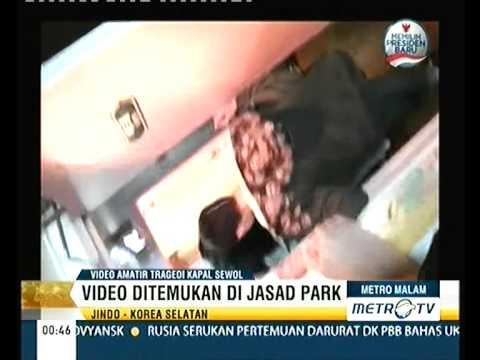 Video Suasana Di Kabin Kapal Sewol Sebelum Tenggelam