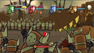Let's Play Castle Crashers [4-Player] #1 The Start Of An