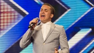 Jahmene Douglas' audition - Etta James' At Last- The X Factor UK 2012