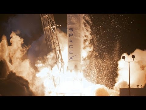 SpaceX CRS-1 Mission   October 2012