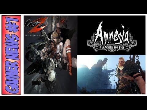 Gamer News #1 - Gunz 2 + Novo Amnesia e Black Desert