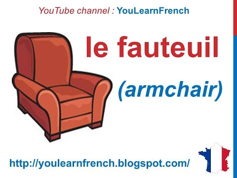French lesson 88 pieces of furniture les meubles for Le meuble villageois furniture