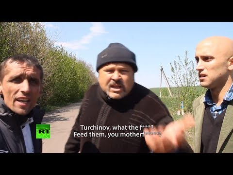 'Feed the troops, motherf*****!' Angry locals 'bomb' RT report at Slavyansk barricade attack scene