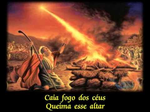 Fernandinho- Caia Fogo (Playback Legendado)