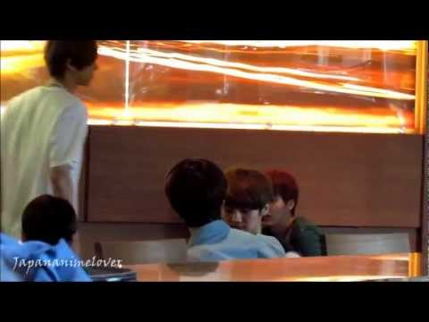 EXO eating breakfast pt.1 120519