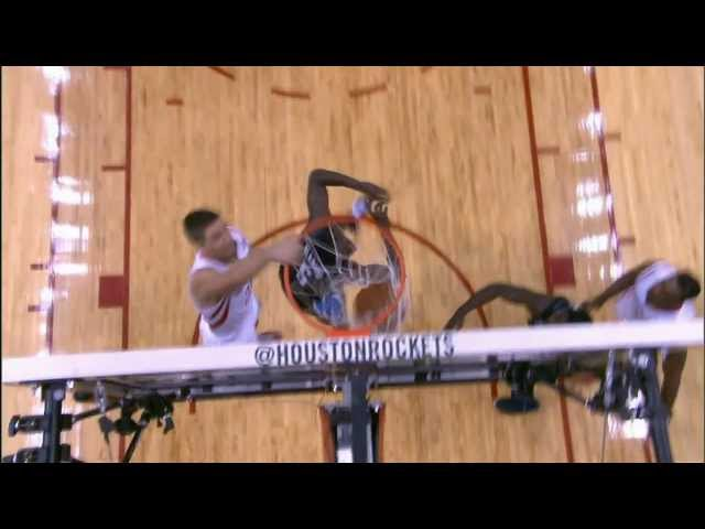 Chandler Parsons Finishes the Break with the Facial