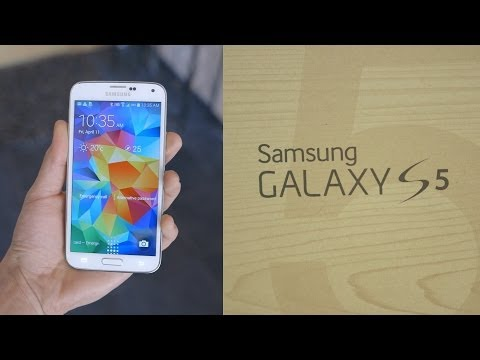 Samsung Galaxy S5 Unboxing + Detailed Demo!