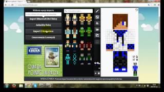 PORADNIK Jak Zrobić Skin Do Minecraft 2014