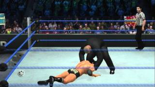 WWE Smackdown Vs. Raw 2011 Randy Orton Finisher RKO From