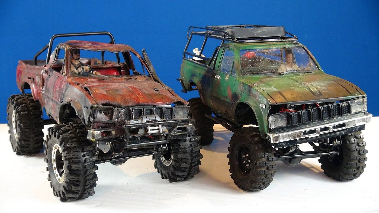 "RC ADVENTURES - ""Trail Finder 2"" Toyota Hilux 4x4 RC ..."