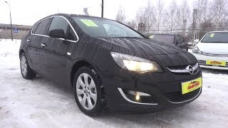 2013 Opel Astra J. Start Up, Engine, and In Depth Tour.. MegaRetr
