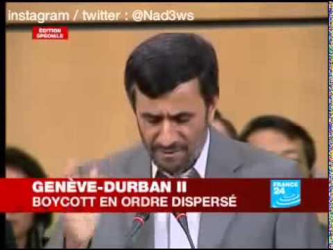 Discours historique de Mahmoud Ahmadinejad à l'ONU