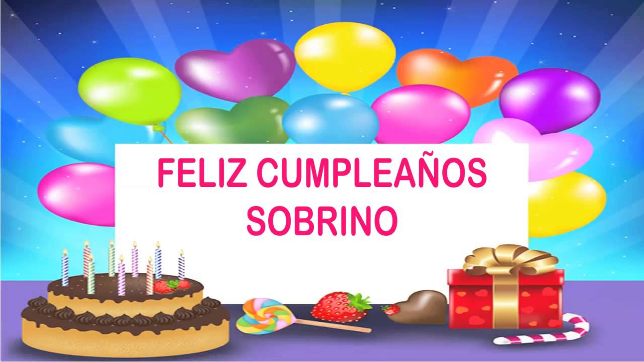 Sobrino Wishes& Mensajes Happy Birthday YouTube
