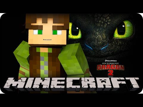 Minecraft Mods - HOW TO TRAIN YOUR DRAGON - Modded Minigame (Dragon Mounts Mod)