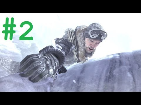 Call of Duty Modern Warfare 2 gameplay walkthrough Part 2 - Act 1 - Cliffhanger