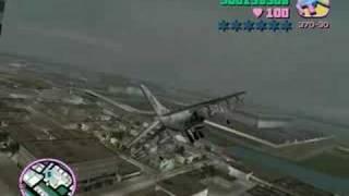 Zwiedzanie Miasta Vice City-Helikopterem I Samolotem